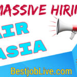 Air Asia Jobs for fresher