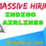 Indigo Airlines Jobs for freshers